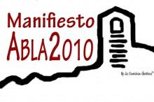 APOYO Y ADHESIÓN AL MANIFIESTO ABLA 2010
